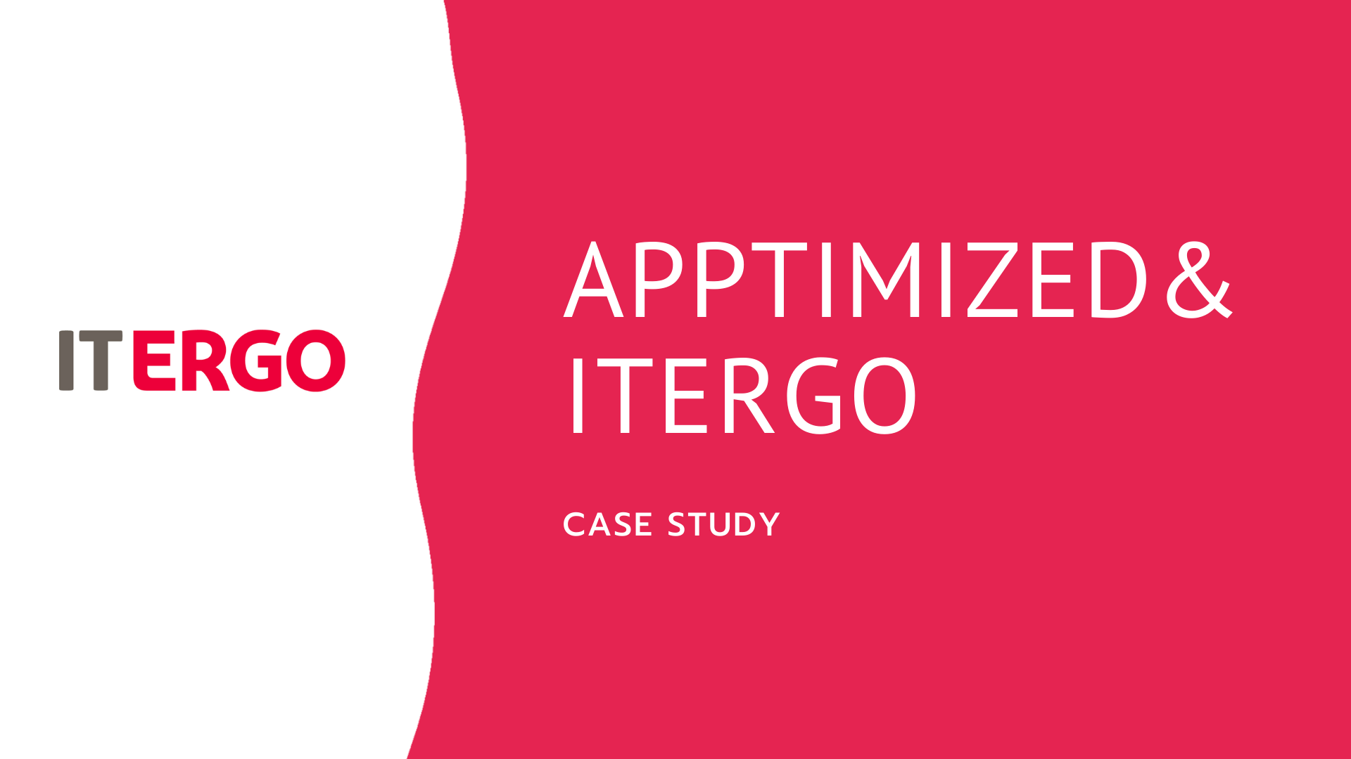 Customer Itergo Study Case for outsourcing of software packaging