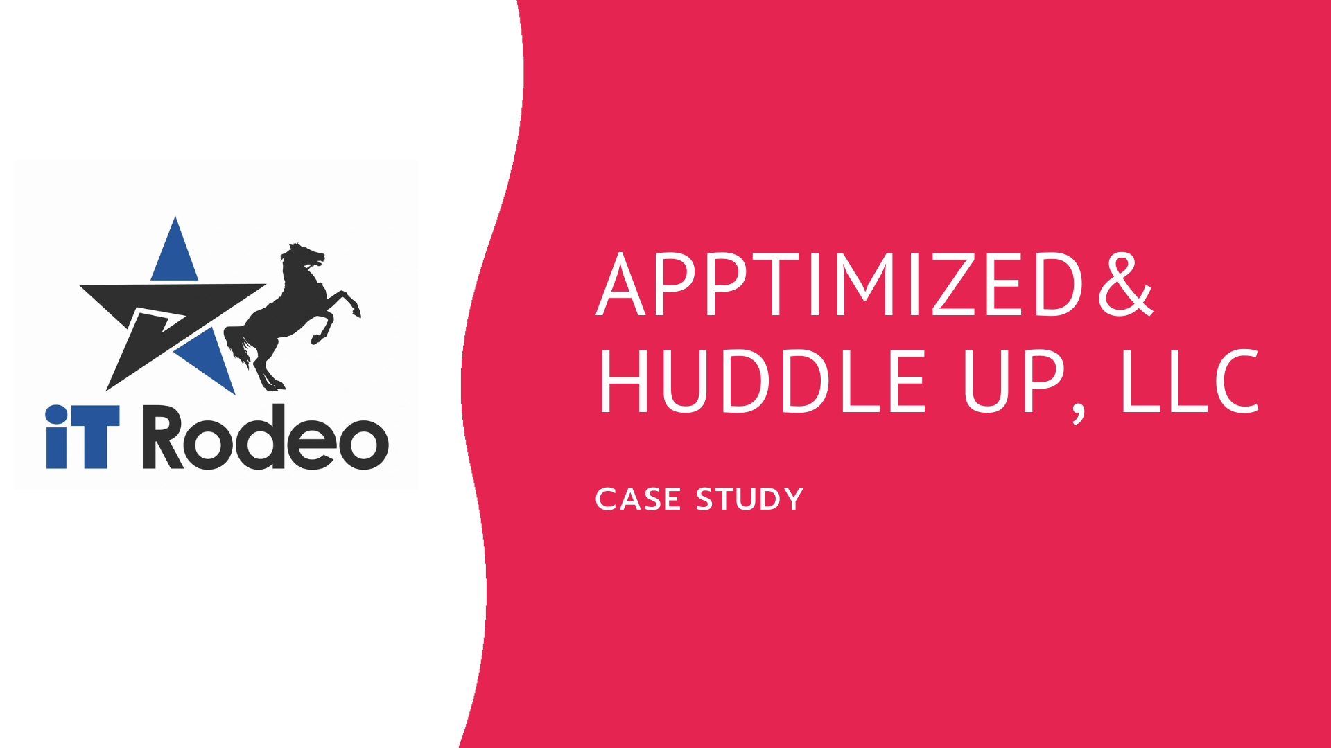 apptimized & huddle up big logo