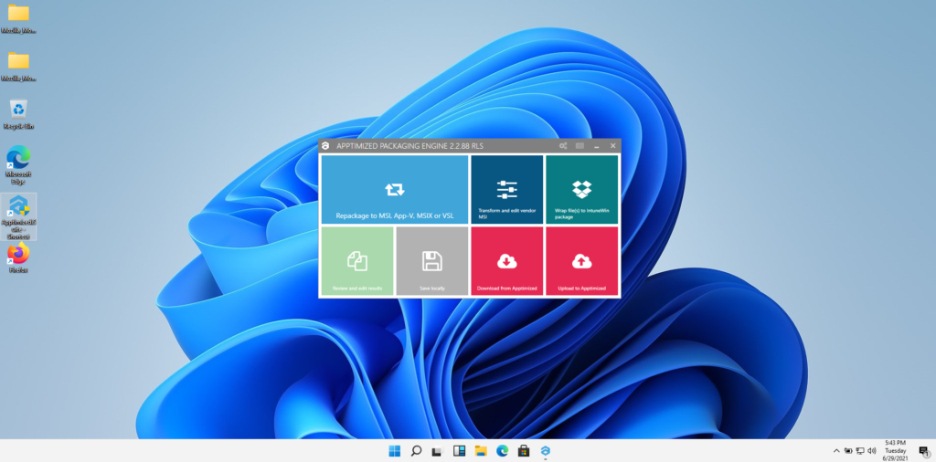 How to package software on Windows 11